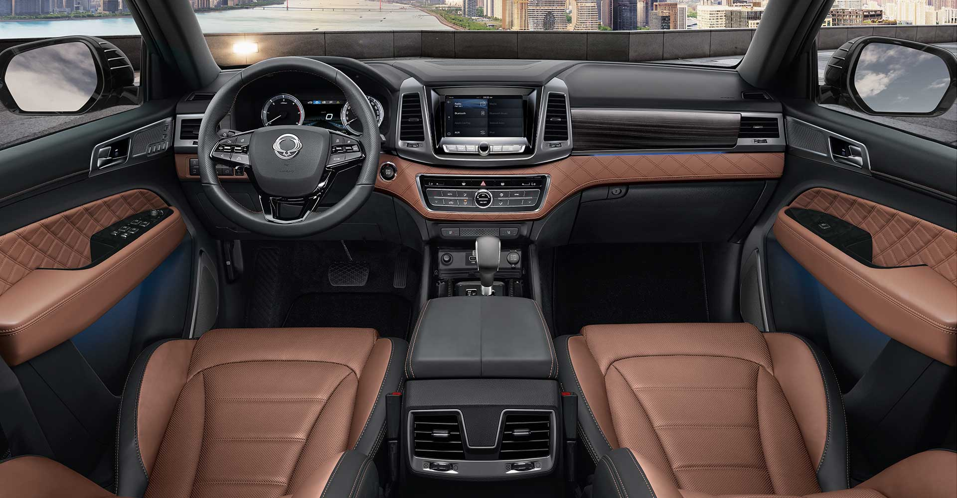 Brown Nappa Leather Interior